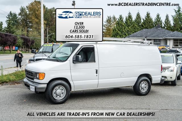 2006 Ford Econoline E-150 Cargo Van, 197k, V8, Ladder Racks!