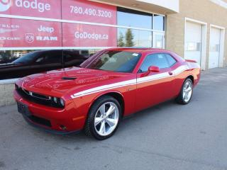 Used 2016 Dodge Challenger RT / Sunroof / Back Up Camera for sale in Edmonton, AB