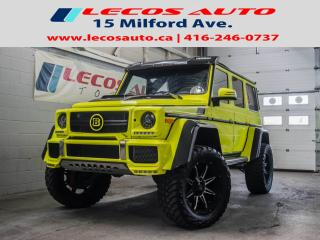 Used 2017 Mercedes-Benz G-Class G 550 4x4 Squared for sale in North York, ON