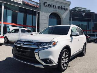 Used 2017 Mitsubishi Outlander GT AWC - Sunroof / Leather / No Dealer Fees / 360 Camera View for sale in Richmond, BC