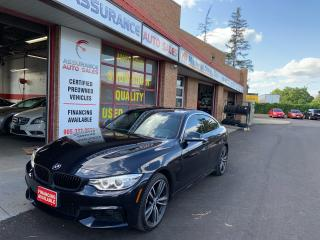Used 2015 BMW 4 Series 435i/ AWD/No Accidents/Navi/Backup Camera/M Pkg for sale in Burlington, ON