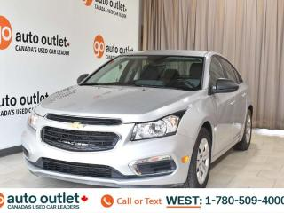 Used 2016 Chevrolet Cruze Limited Ls, 1.8L I4, 6 speed manual, Cloth seats for sale in Edmonton, AB