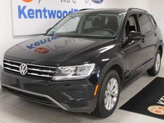 Used 2019 Volkswagen Tiguan Trendline AWD 4motion hatch with heated seats and a back up cam for sale in Edmonton, AB