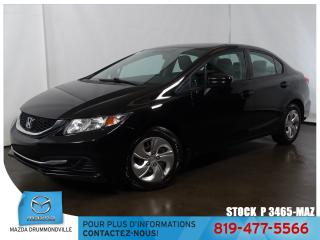 Used 2015 Honda Civic LX|AIRCLIM|SIEGCHAUF|CAMERA|REGVIT| for sale in Drummondville, QC