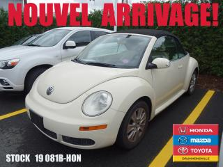 Used 2008 Volkswagen New Beetle 2.5L Trendline+REGVIT+A/C+SIEGCHAUFF for sale in Drummondville, QC