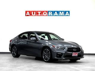 Used 2014 Infiniti Q50 SPORT AWD NAVIGATION LEATHER SUNROOF BACKUP CAM for sale in Toronto, ON