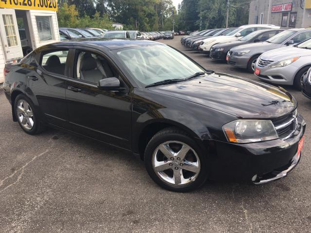 2008 Dodge Avenger R/T/ AWD/ AUTO/ LEATHER/ SUNROOF/ ALLOYS & MORE!
