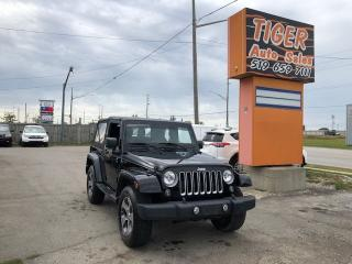 Used 2016 Jeep Wrangler Sahara**4X4**ONLY 61KMS**AUTO**NAVI**CERTIFIED for sale in London, ON