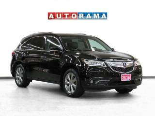 Used 2016 Acura MDX 4WD Elite Pkg Nav Leather SRoof Backup Cam 7Pass for sale in Toronto, ON