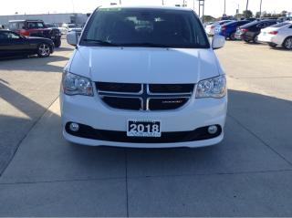 Used 2018 Dodge Grand Caravan Crew Plus / LEATHER / NO PAYMENTS FOR 6 MONTHS !! for sale in Tilbury, ON