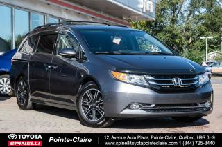 Used 2017 Honda Odyssey ***RÉSERVÉ***TOURING GPS+DVD!!!!! for sale in Pointe-Claire, QC