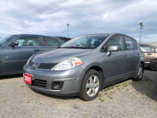Used 2007 Nissan Versa 1.8 S for sale in Pickering, ON