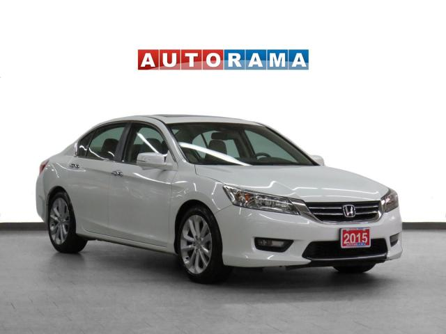 2015 Honda Accord TOURING NAVIGATION LEATHER SUNROOF BACKUP CAM