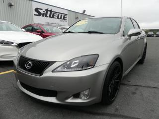 Used 2010 Lexus IS 250 IS 250 / AUTOMATIQUE / PROPULSION for sale in St-Georges, QC