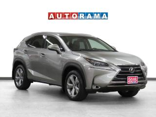 Used 2015 Lexus NX 200 4WD Navigation Leather Sunroof Backup Cam for sale in Toronto, ON
