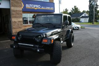 Used 2005 Jeep TJ Sport for sale in Nepean, ON