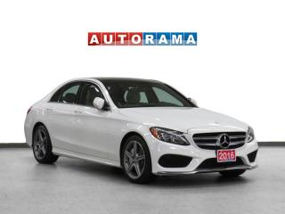 Used 2016 Mercedes-Benz C-Class C300 4WD AMG Pkg Nav Leather PSunroof Backup Cam for sale in Toronto, ON