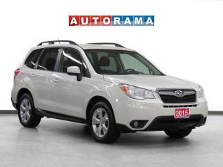 Used 2015 Subaru Forester 4WD Backup Cam Heated Seats for sale in Toronto, ON