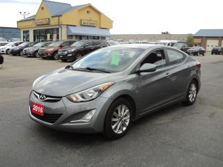 Used 2016 Hyundai Elantra Sport Appearance 1.8L MoonRoof BackUpCamHeatedSeat for sale in Brantford, ON