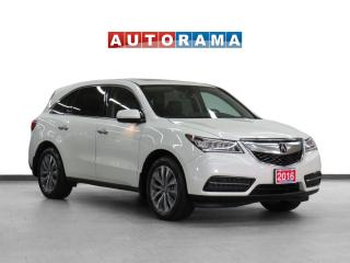 Used 2016 Acura MDX 4WD Tech Pkg Navigation Leather Sunroof Backup Cam for sale in Toronto, ON