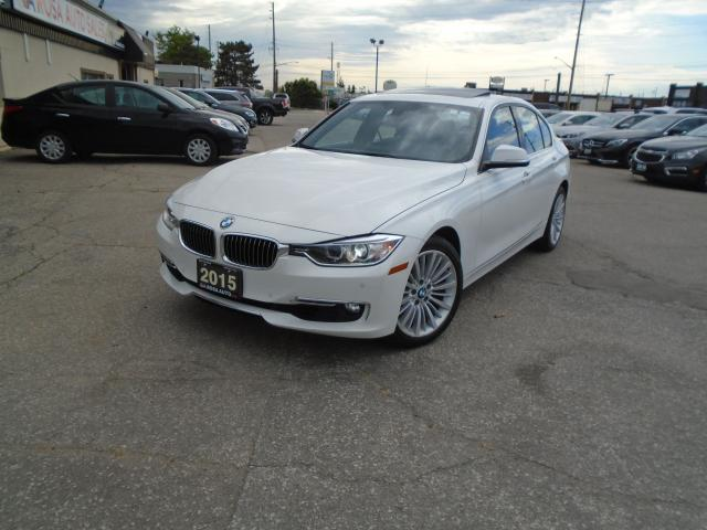 2015 BMW 3 Series AWD NAVIGATION  NO ACCIDENT 1 OWNER 4 NEW TIRES +