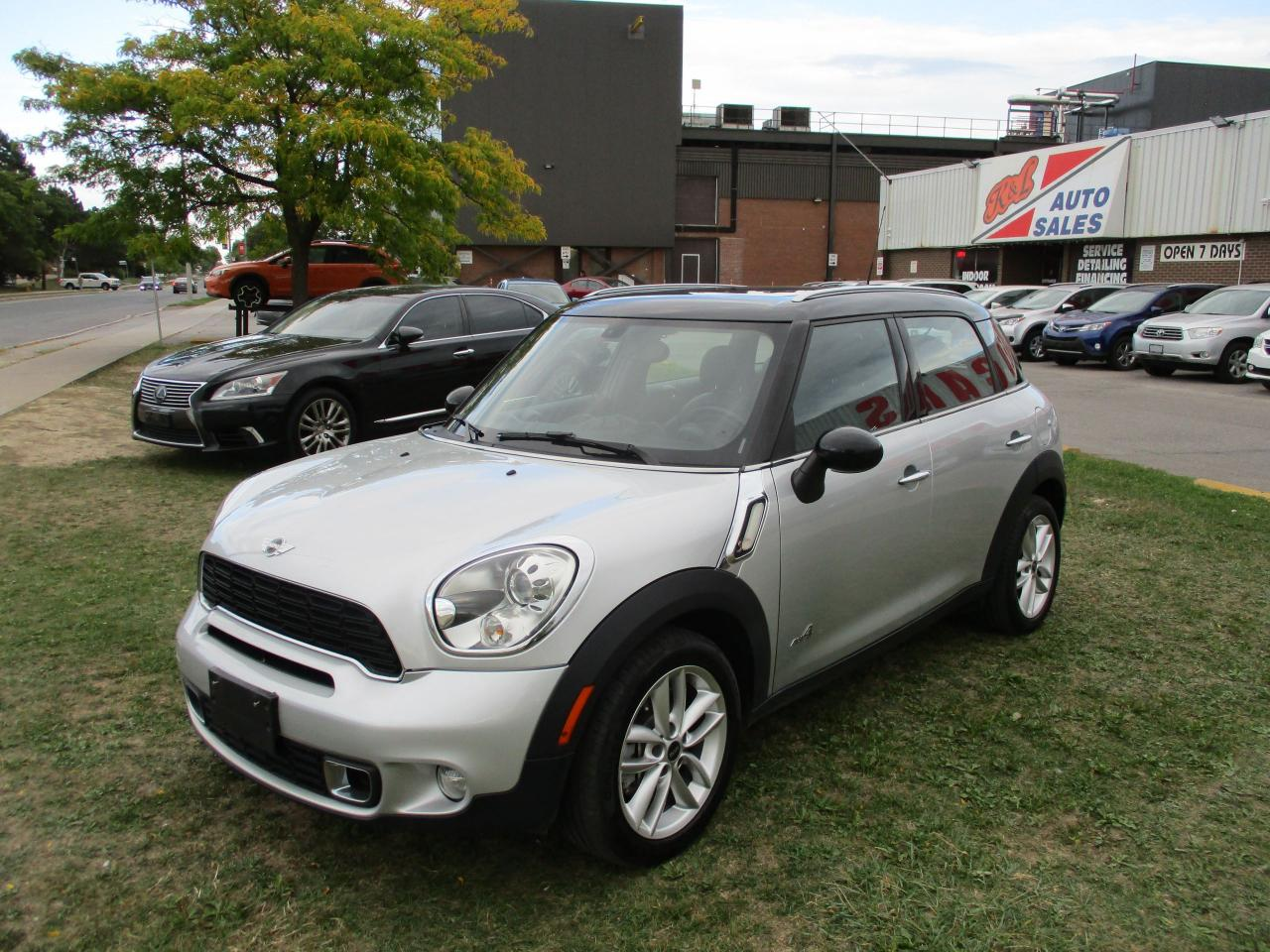 Toronto Car Sales >> Used 2012 Mini Cooper Countryman S Awd Leather Sunroof