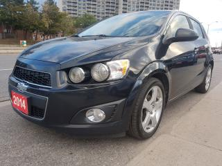 Used 2014 Chevrolet Sonic LT-Extra Clean-148K Only-Bk Up Cam-Bluetooth-Alloy for sale in Scarborough, ON