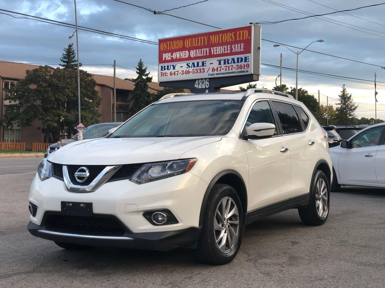 Ontario Quality Motors >> 2014 Nissan Rogue Ontario Quality Motors Ltd