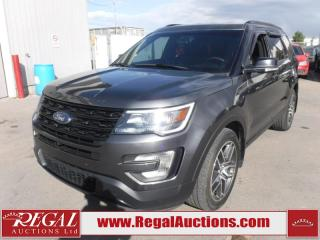 Used 2016 Ford Explorer Sport 4D Utility V6 AWD 7PASS 3.5L for sale in Calgary, AB