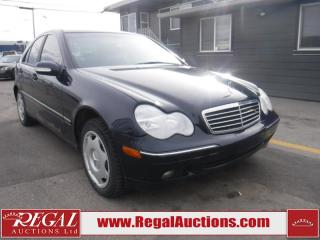 Used 2002 Mercedes-Benz C-Class C240 4D Sedan for sale in Calgary, AB