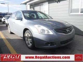 Used 2012 Nissan Altima 2.5 S 4D Sedan FWD for sale in Calgary, AB