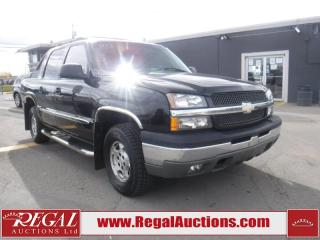 Used 2003 Chevrolet Avalanche 4D Crewcab 4WD for sale in Calgary, AB