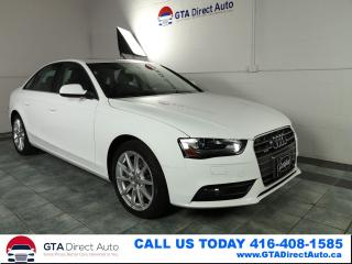 Used 2014 Audi A4 Progressiv AWD NAV Sunroof Xenon Leather Certified for sale in Toronto, ON