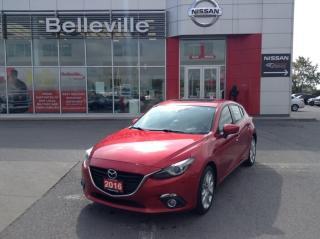 Used 2014 Mazda MAZDA3 GT-SKY LEATHER, NAVIGATION, SUNROOF for sale in Belleville, ON