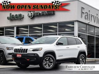 Used 2019 Jeep Cherokee Trailhawk 4x4 l REMOTE START l VENTED SEATS l for sale in Burlington, ON