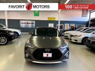 Used 2013 Hyundai Veloster Turbo *CERTIFIED!* |NAV|LEATHER|PANO ROOF| for sale in North York, ON