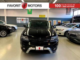 Used 2015 Dodge Journey Crossroad *CERTIFIED!* |7 PASS.|NAV|LEATHER|DVD| for sale in North York, ON
