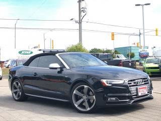 Used 2014 Audi S5 3.0**Premium**AWD**Convertible**NAV**Leather for sale in Mississauga, ON