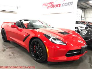 Used 2016 Chevrolet Corvette Stingray Z51 Convertible w-2LT 8 Speed Automatic for sale in St. George Brant, ON