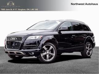 Used 2015 Audi Q7 3.0L TDI Progressiv FRONT AND BACK CAM NO ACCIDENT for sale in Concord, ON