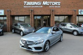 Used 2016 Mercedes-Benz C-Class C300 4MATIC | NAVIGATION | A.M.G | REARCAM | LEATHER | BT for sale in Mississauga, ON