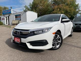 Used 2016 Honda Civic Sedan 4dr CVT LX |ONE OWNER|BACKUP CAM| WINTER TIRES INCLUDED for sale in Brampton, ON