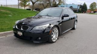 Used 2009 BMW 5 Series 4dr Sdn 550i RWD | M-Sport | DCT | Heads Up Display | PDC for sale in Vaughan, ON