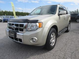 Used 2011 Ford Escape 4WD /V6/ Limited/ ACCIDENT FREE for sale in Newmarket, ON