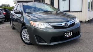 Used 2012 Toyota Camry LE - BLUETOOTH! ACCIDENT FREE for sale in Kitchener, ON