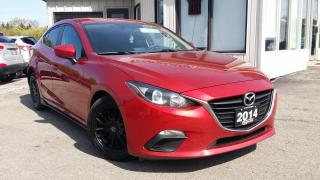 Used 2014 Mazda MAZDA3 GS - BACK-UP CAMERA! 6 SPEED MT! ACCIDENT FREE! for sale in Kitchener, ON