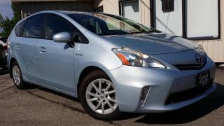 Used 2012 Toyota Prius V - BACK-UP CAMERA! ACCIDENT FREE! for sale in Kitchener, ON