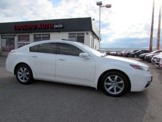 Used 2012 Acura TL Tech Package Navigation Certified for sale in Milton, ON