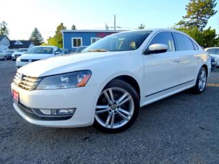 Used 2013 Volkswagen Passat Highline TDI DSG Navi Sunroof Back-up Camera Certified for sale in Guelph, ON