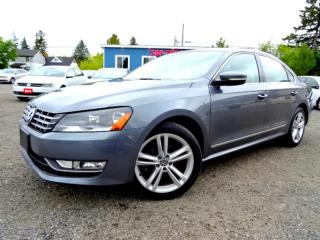Used 2014 Volkswagen Passat Comfortline TDI S DSG Leather Sunroof Bluetooth Certified for sale in Guelph, ON